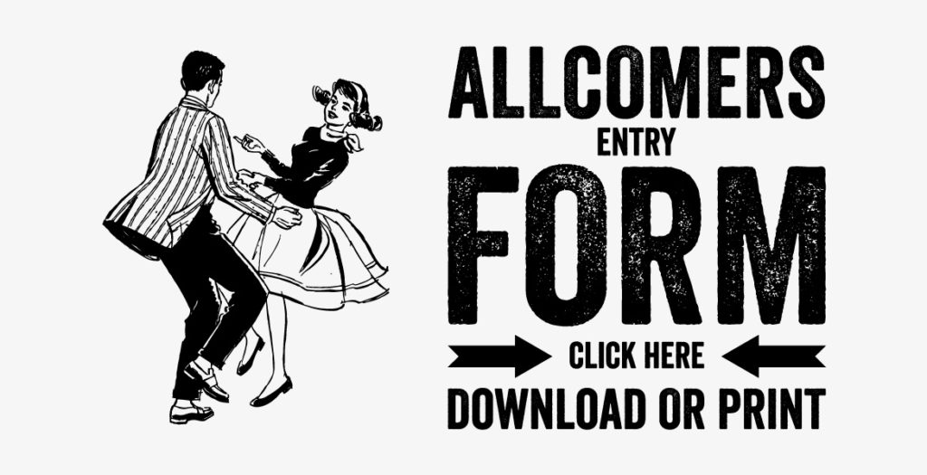 Allcomers Entry Form Button