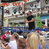 Howick Santa Parade City of Sails Float