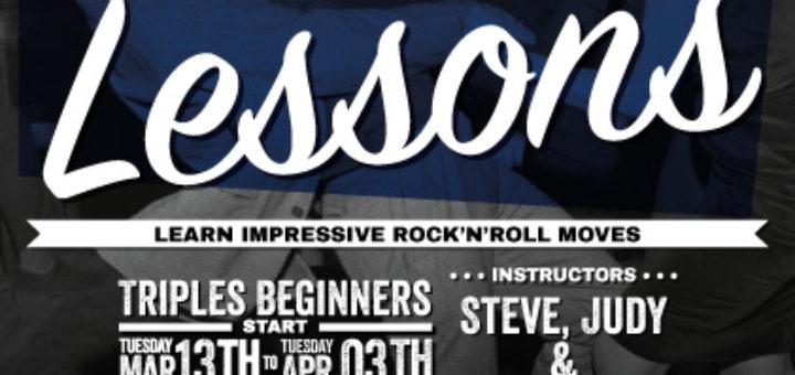 Triples Rock 'n' Roll Beginners Lesson